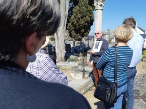 JEP 2019 :Visites du «vieux cimetière» de Fondettes