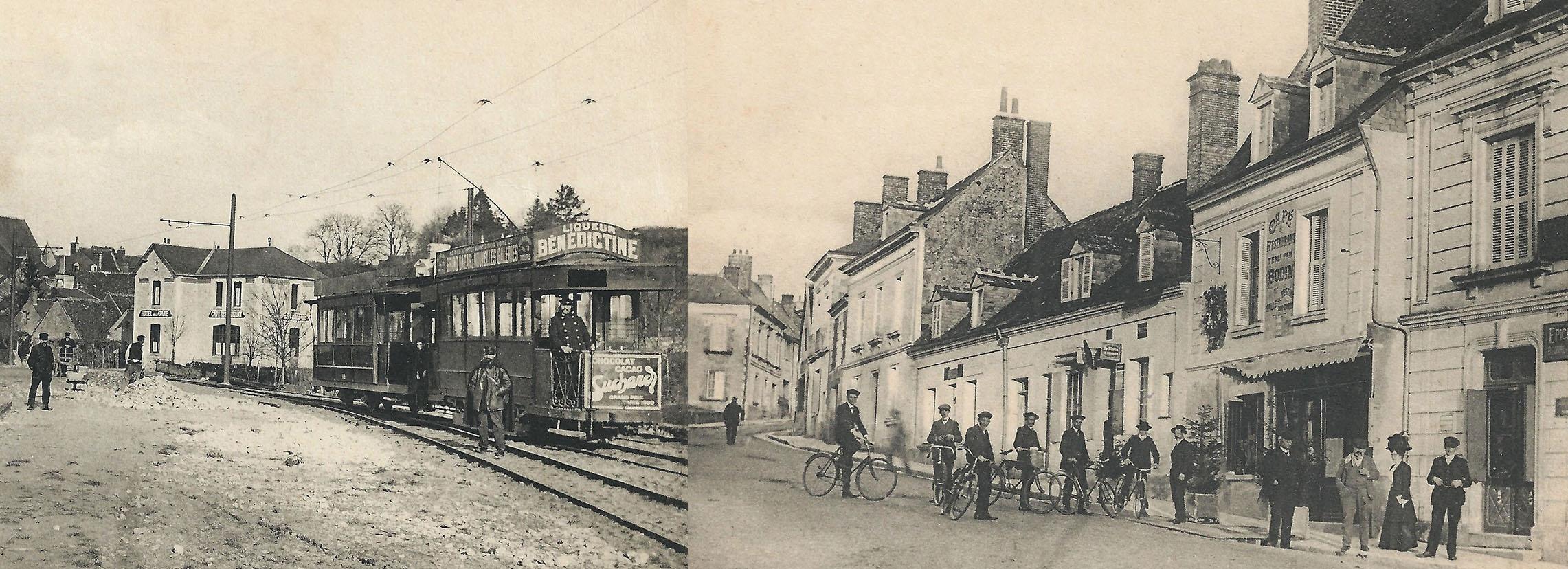 Centre bourg et ancienne gare defondettes