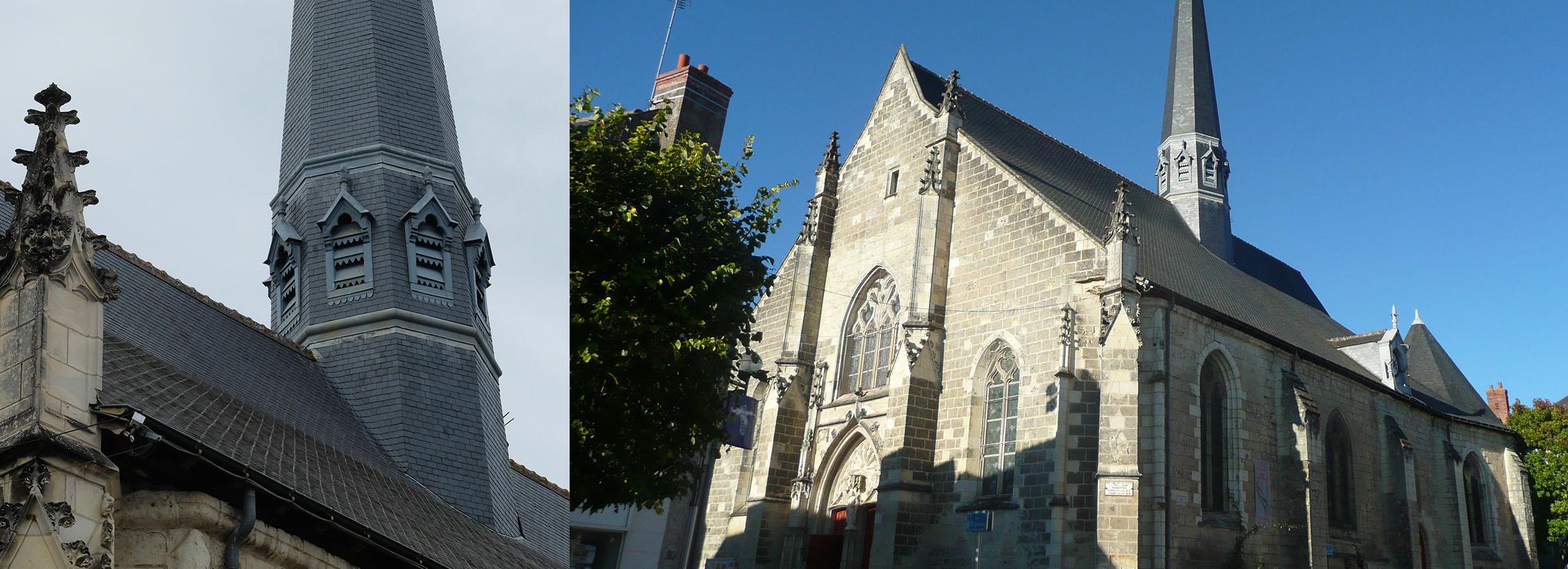 l'église Saint-Symphorien de Fondettes