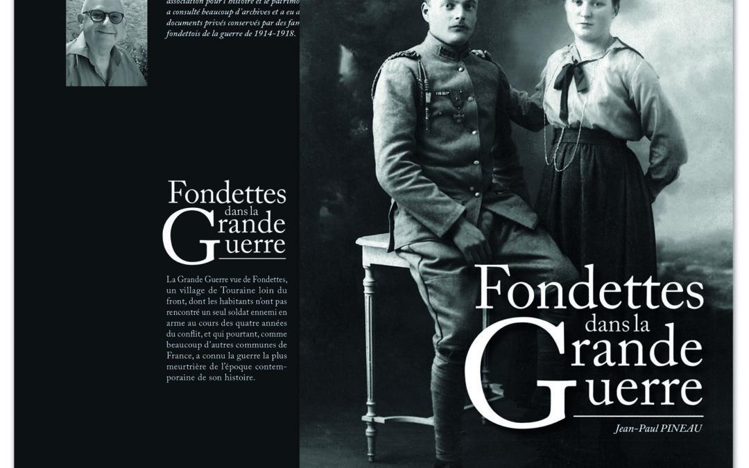 Fondettes dans la Grande Guerre, un livre pour la mémoire