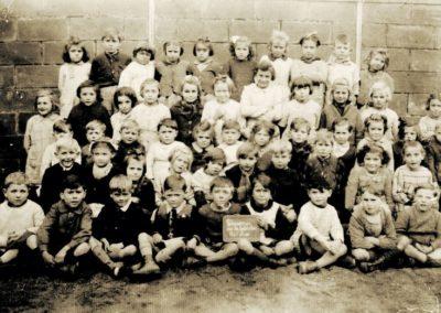1945 Ecole filles et garçons Libération