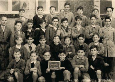 1950-1951 Ecole garçons - M. Testu instituteur