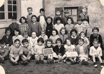 1953-1954 école maternelle Clos Poulet