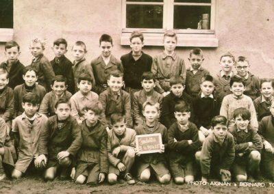 1954-1955 Ecole garçons