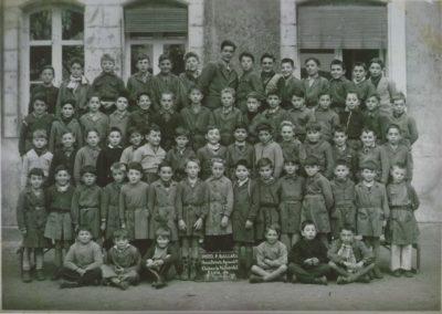 1955-1956 Ecole garçons