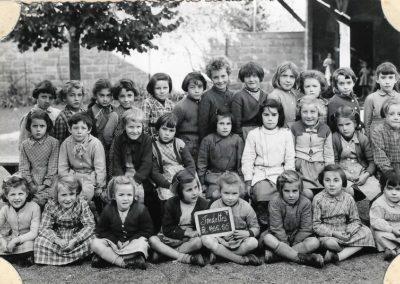 1955-1956 école maternelle Clos Poulet