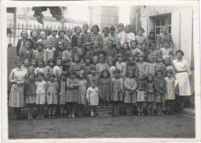 1956-1957 Ecole filles