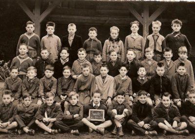 1956-1957 Ecole garçons