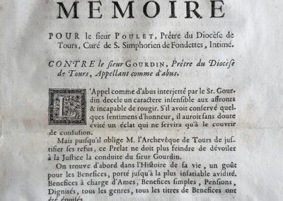 Acte du 26 novembre 1738